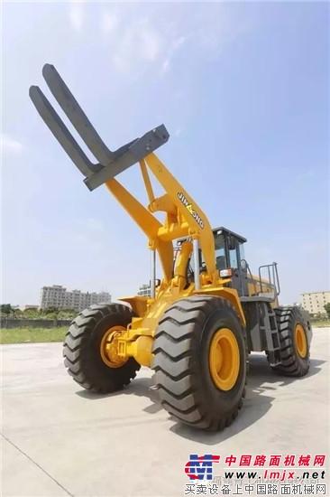 晋工产物:叉装机、轮挖、定制型产物等获高度承认