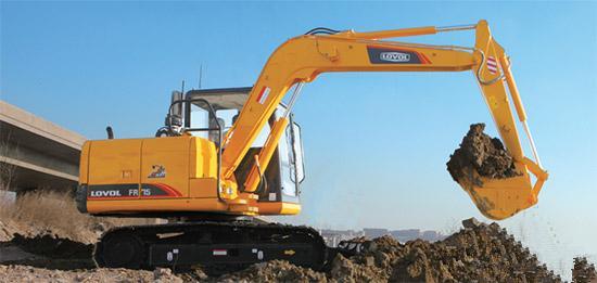 雷沃挖掘机租用的时候要留意那些